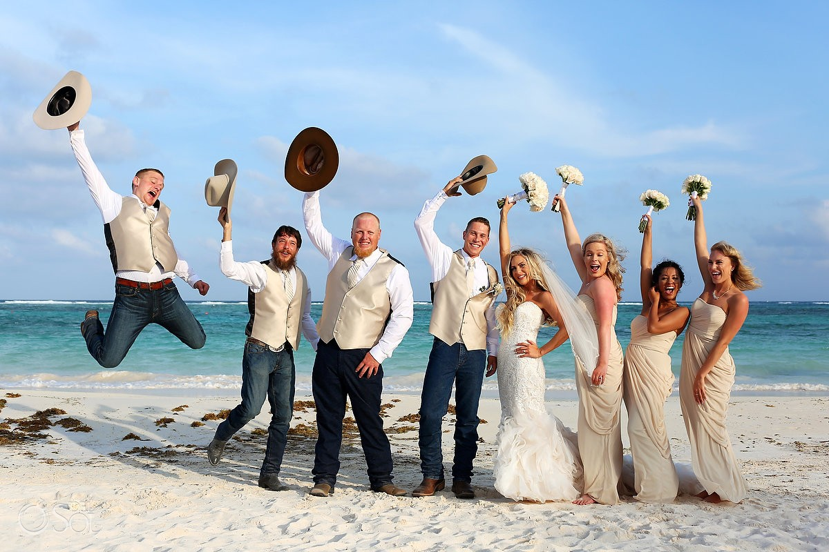 Destination wedding secrets akumal jill and tyler for What to know about destination weddings