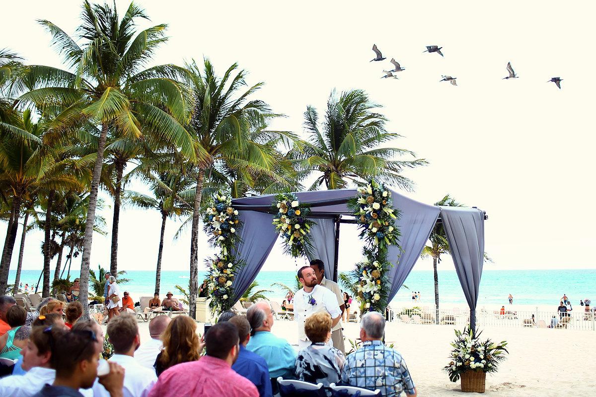 Riu Palace Riviera Maya Beach Wedding Jennifer And Tony