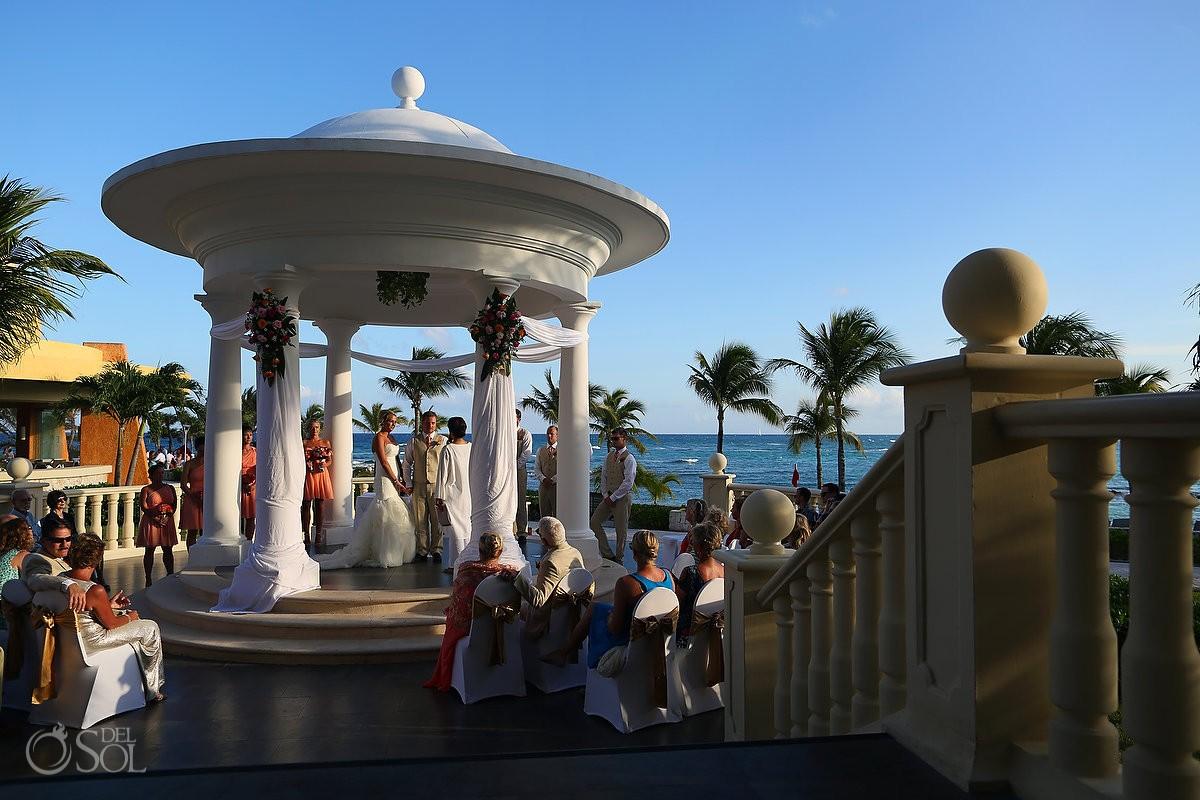Destination Wedding Barceló Maya Palace Deluxe gazebo, Riviera Maya, Mexico