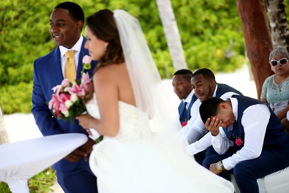 Ceremony moment Destination Wedding, Excellence Riviera Cancun, Puerto Morelos, Mexico