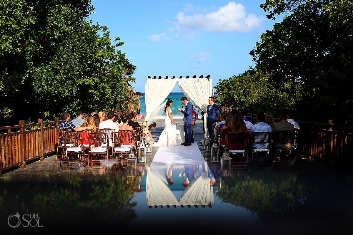 Gabi Bridge destination wedding Paradisus La Perla, Playa del Carmen Mexico