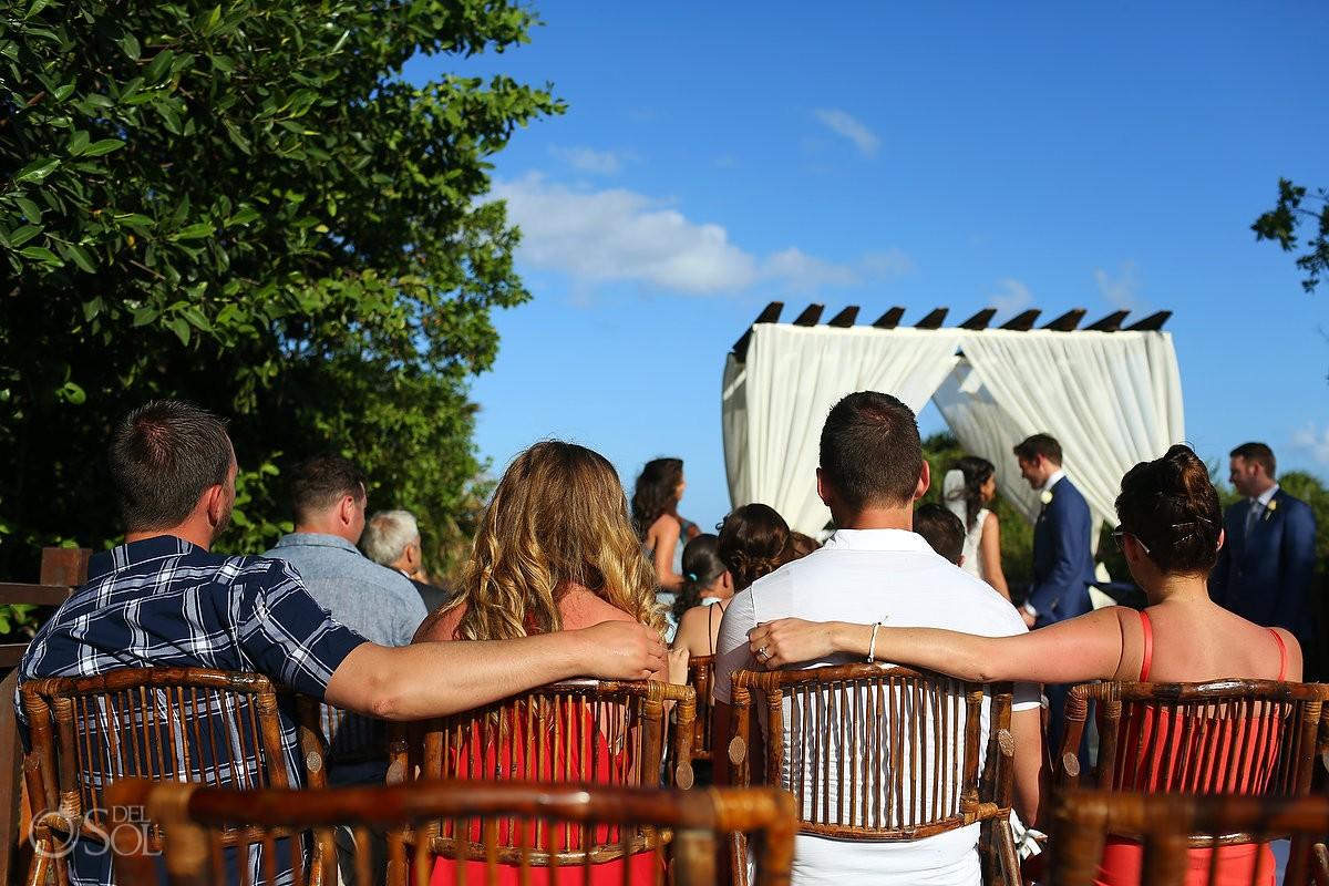 LOVE Gabi Bridge destination wedding Paradisus La Perla, Playa del Carmen Mexico