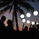 Bride and groom silhouette Destination Weddings Dreams Puerto Aventuras Riviera Maya Mexico