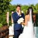 Groom reaction first look beach destination wedding, Paradisus Gabi Brigde, Riviera Maya, Mexico