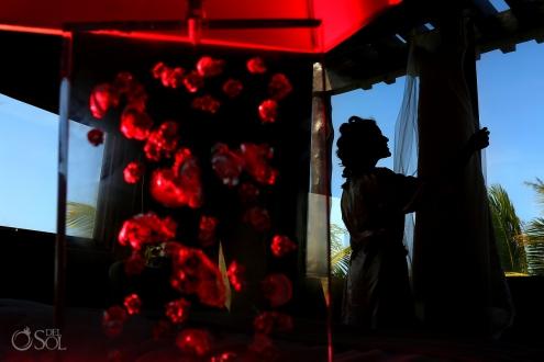 artistic destination wedding getting ready photo Casa Maya Kaan, Sian Ka'an, Tulum, Mexico