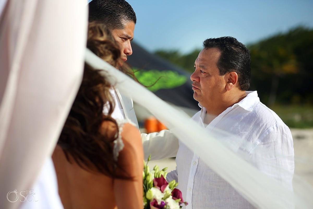 family love beach Destination Wedding Casa Maya Kaan, Sian Ka'an, Tulum, Mexico