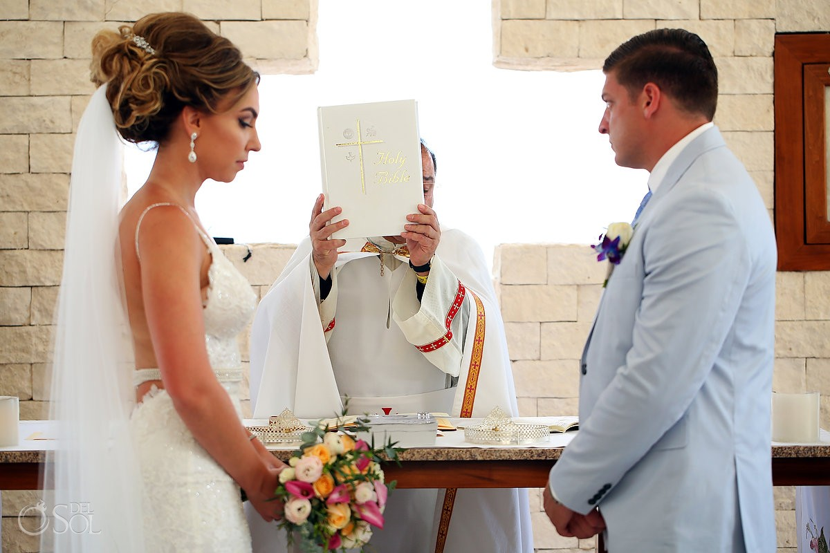 Coptic Christian Orthodox Wedding San Charbel Chapel Hard Rock Hotel Riviera Maya