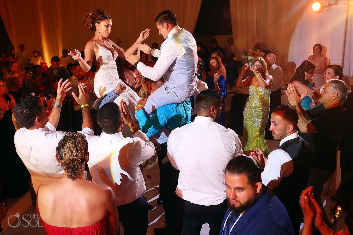 hora Destination Wedding Reception Hard Rock Hotel Riviera Maya Ballroom
