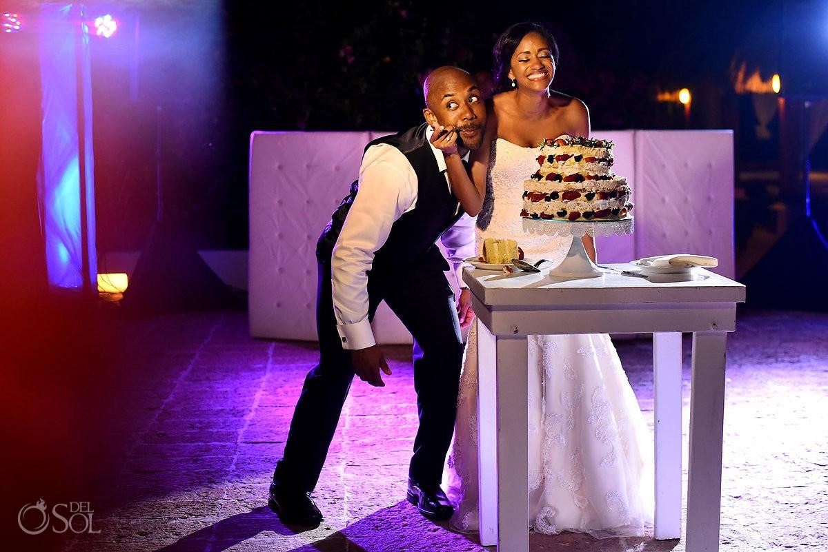 Now Sapphire Wedding Cake