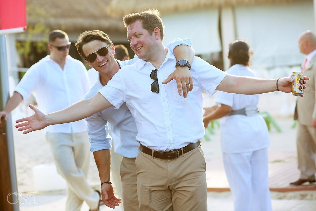 guests in a wedding at paradisus playa del carmen mexico