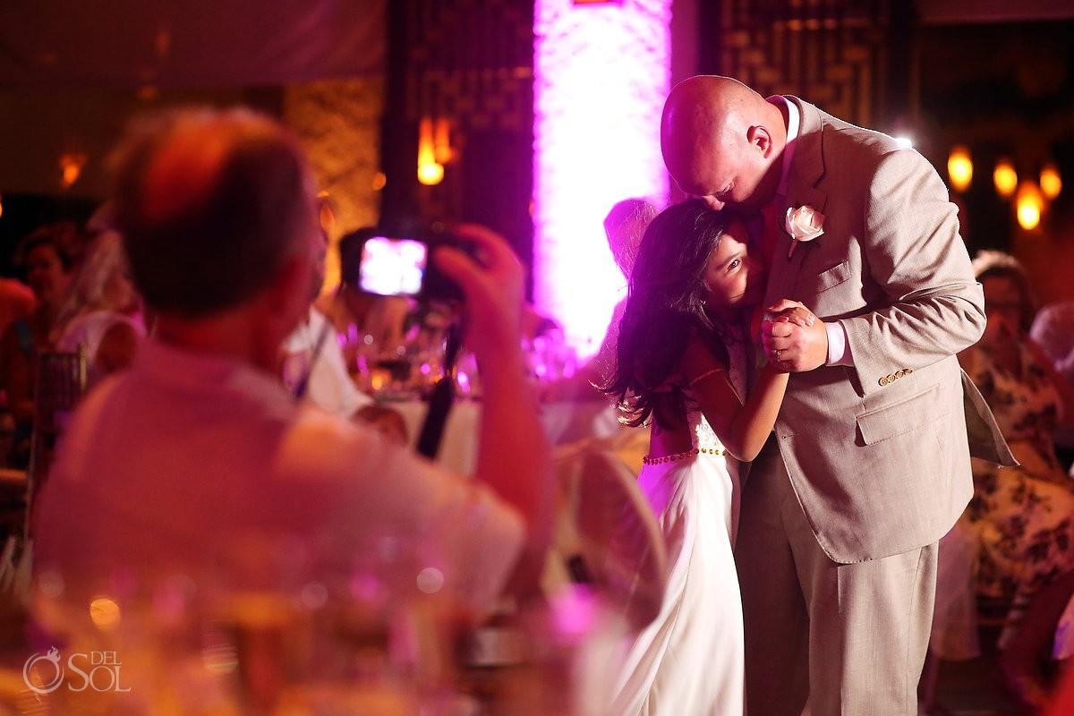 paradisus esmeralda groom and daughter dance