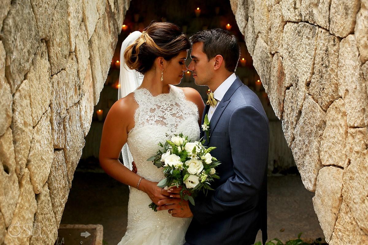 Wedding Portrait Xcaret Park, Playa del Carmen, Mexico