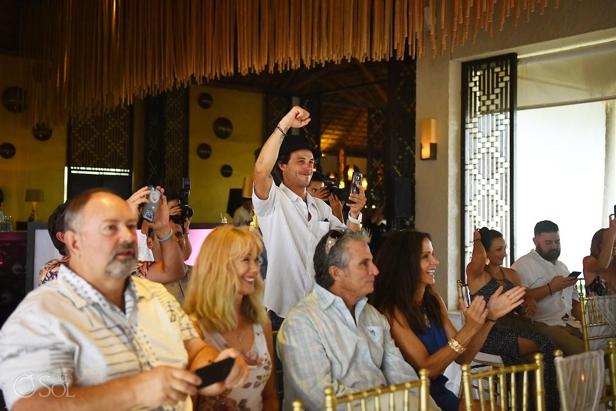 celebration destination wedding alternate rain ceremony location Gabi Club Paradisus Playa del Carmen