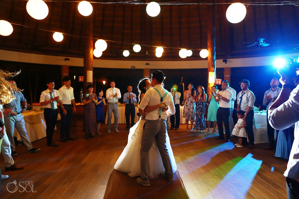 Barcelo Maya Palace Beach Wedding And Chinese Tea Ceremony