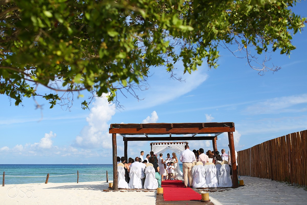 Wedding Ceremony at Grand Sunset Princess Gazebo
