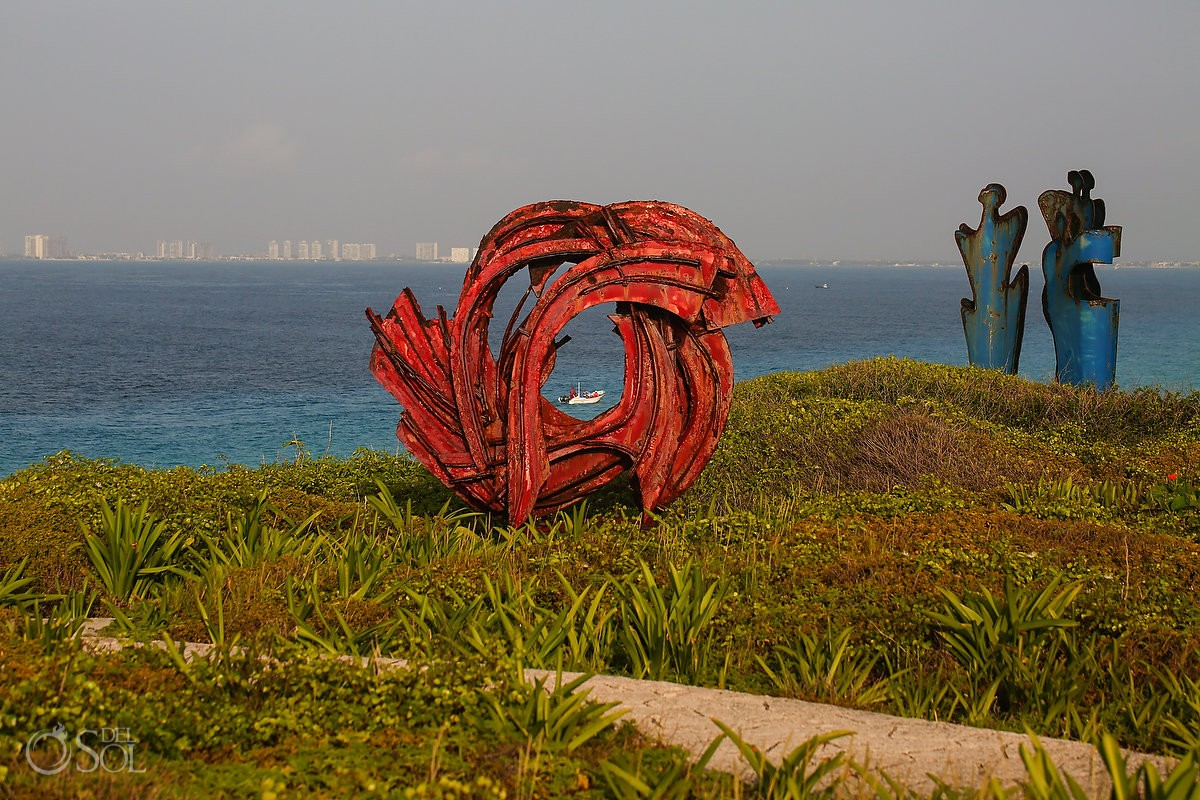 artwork at At Punta Sur, Isla Mujeres, Cancun, Mexico