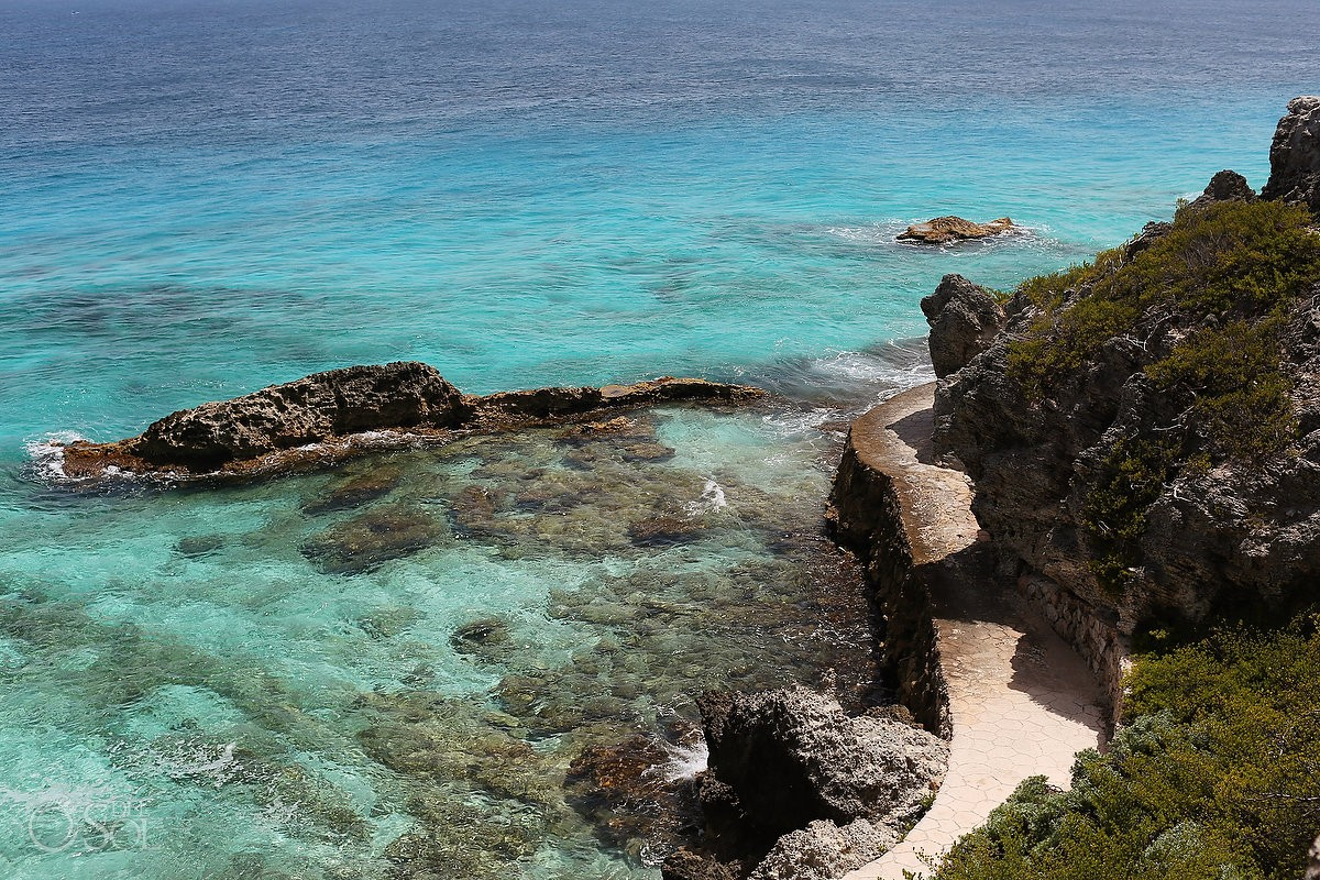 punta sur trail at Isla Mujeres, Cancun, Mexico.