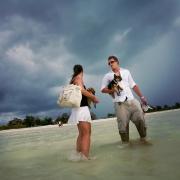 hurricane wedding isla holbox mission mexico