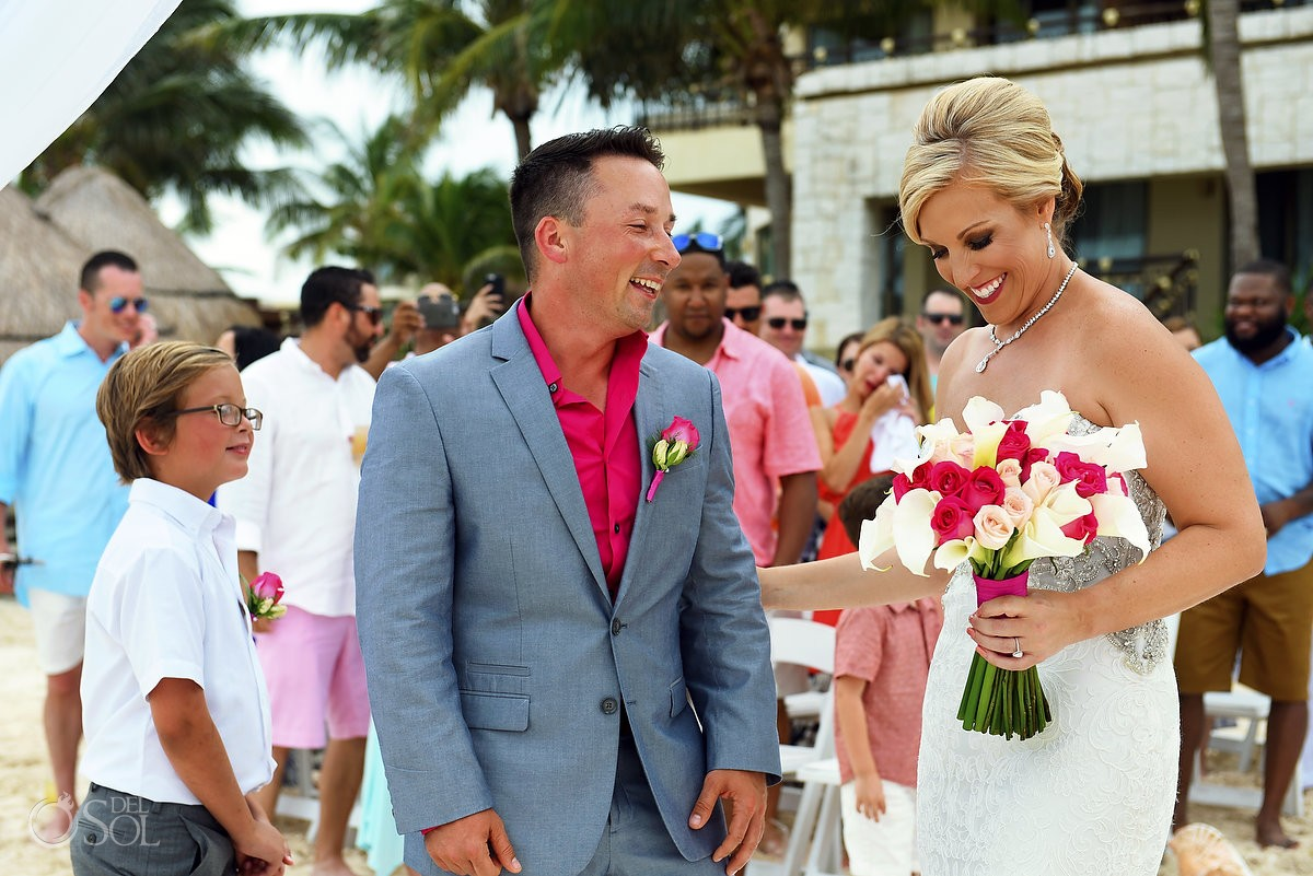 Destination wedding Dreams Riviera Cancun