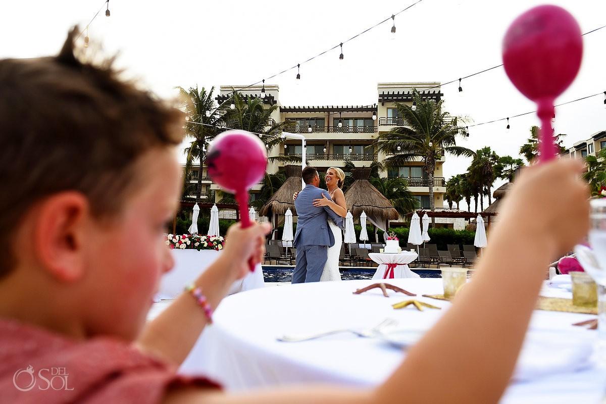 Wedding props ideas, maracas Mexico, destination wedding Cancun, Mexico