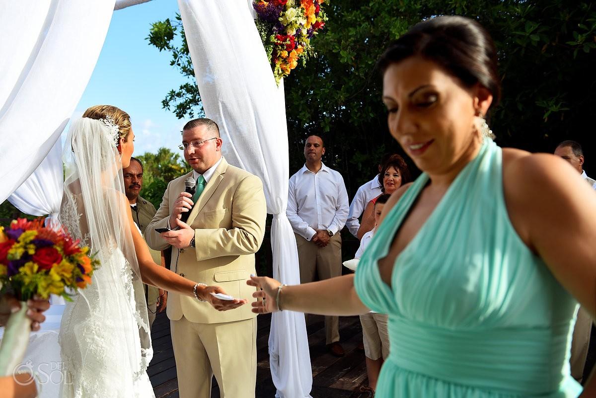 destination wedding Gabi Bridge Paradisus La Esmeralda, Playa del Carmen, Mexico