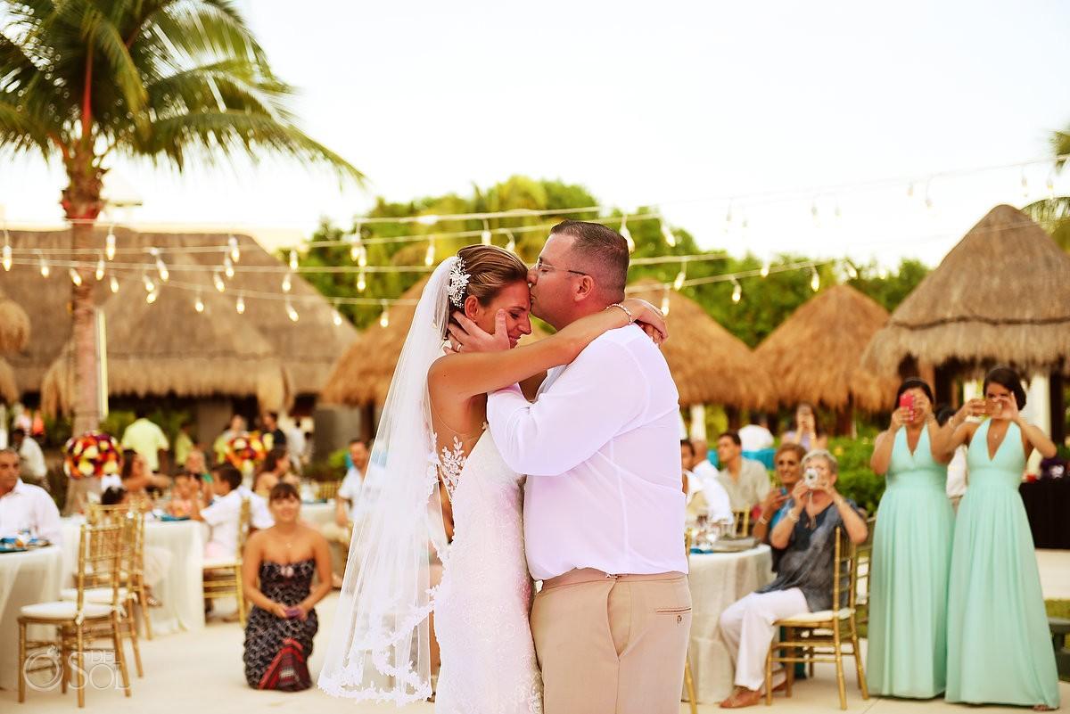 first dance destination wedding reception The Solarium Paradisus La Esmeralda
