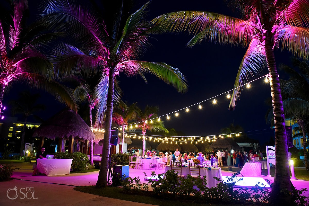 destination wedding reception The Solarium Paradisus La Esmeralda