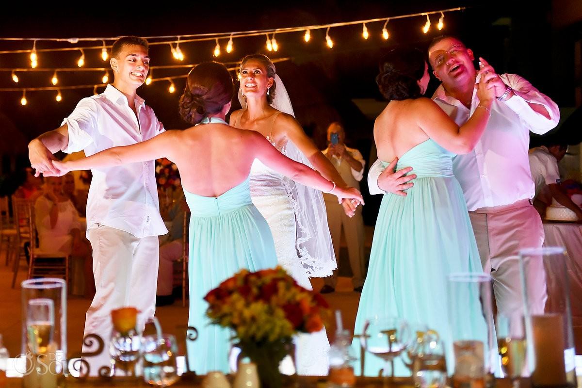 bride groom sibling special dance destination wedding reception The Solarium Paradisus La Esmeralda