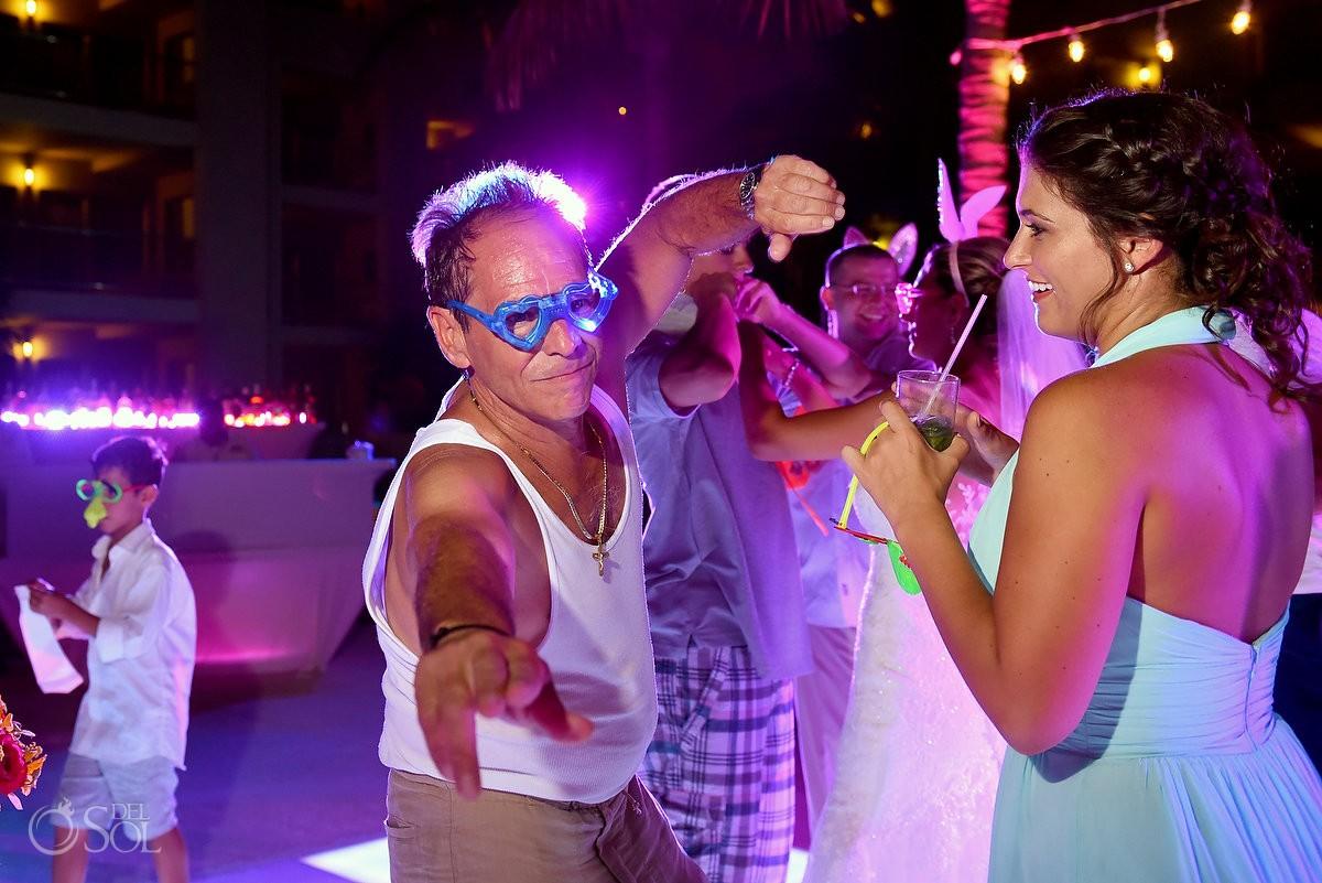 party destination wedding reception The Solarium Paradisus La Esmeralda