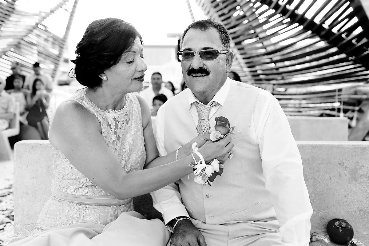 detination wedding ceremony love moments, Royalton Riviera Cancun chapel, Mexico