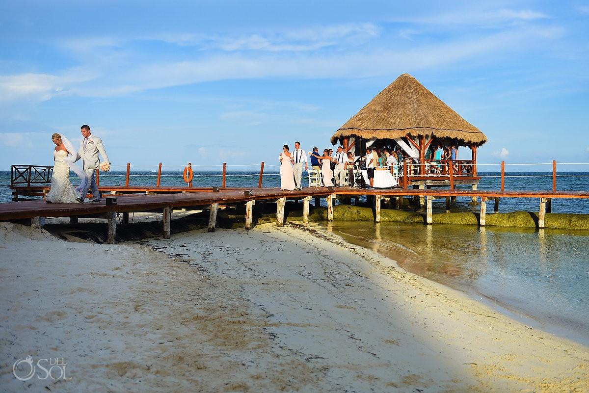 Destintation Wedding venue ideas, Beach Gazebo Wedding