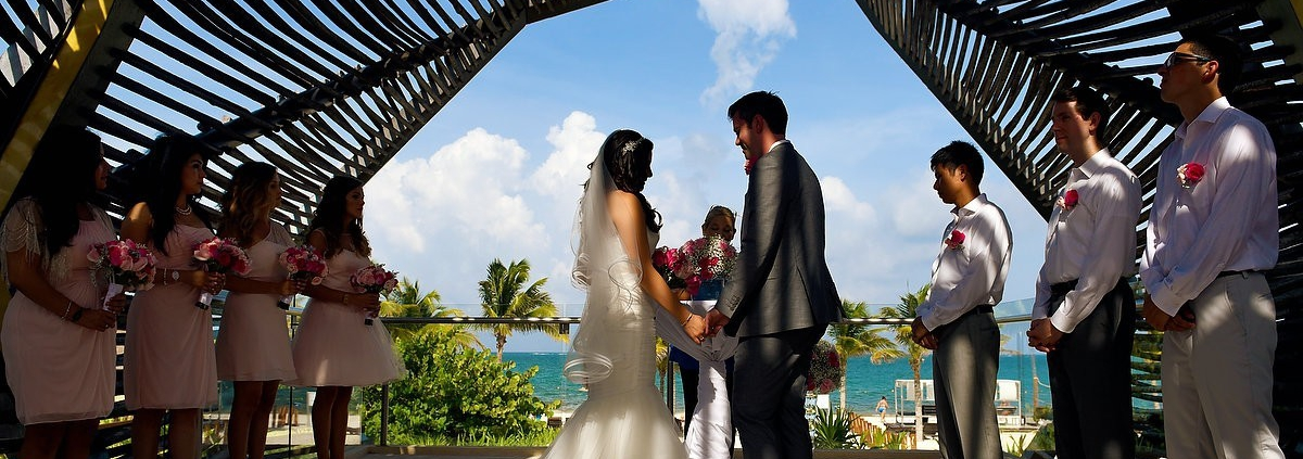 Royalton Riviera Cancun chapel wedding
