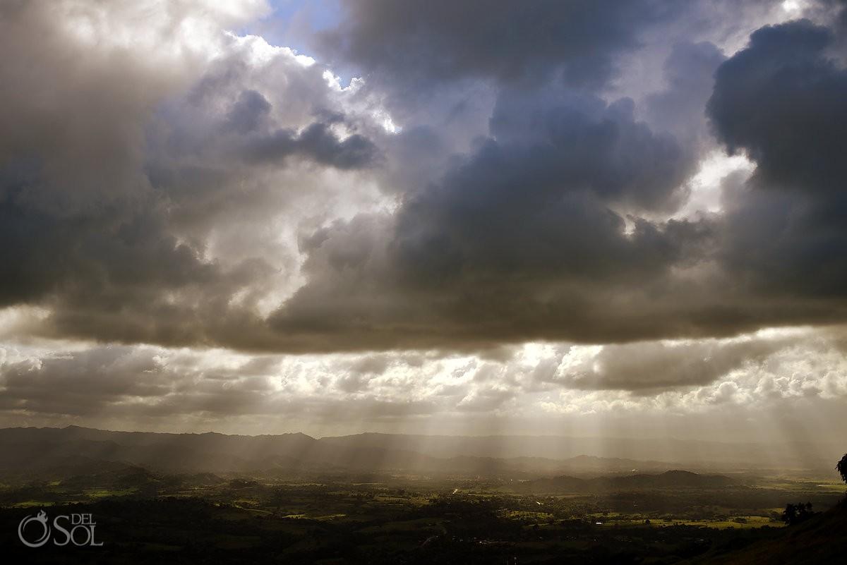 beautiful Sky landscape photograph Punta Cana Dominican Republic