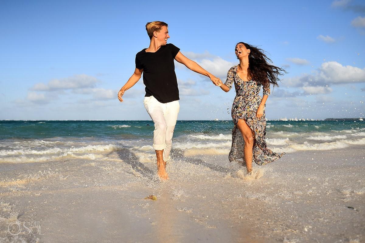 Fun beach Portraits, Paradisus Palma Real Golf & Spa Resort Punta Cana, Dominican Republic