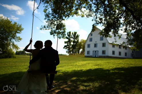 Wedding at Bloom Lake Barn, Shafer, Minnesota