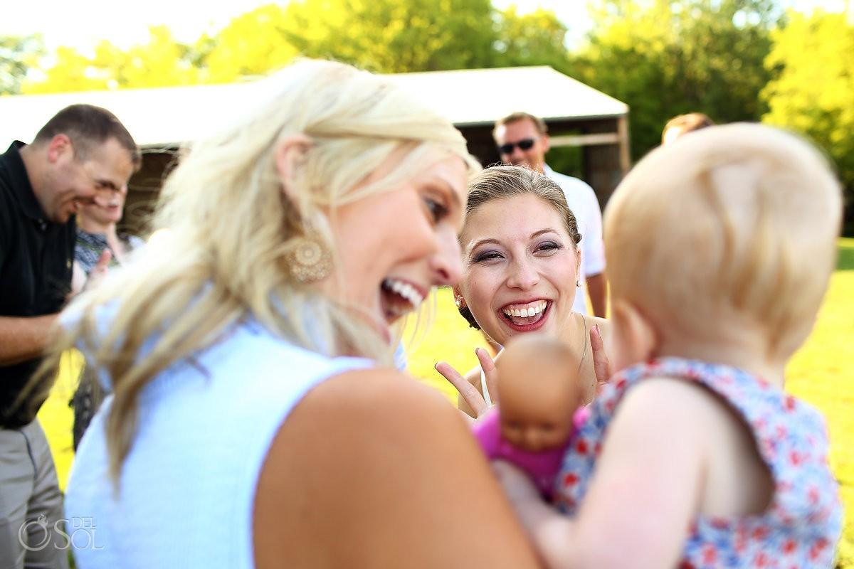 big family hug at bloom lake barn