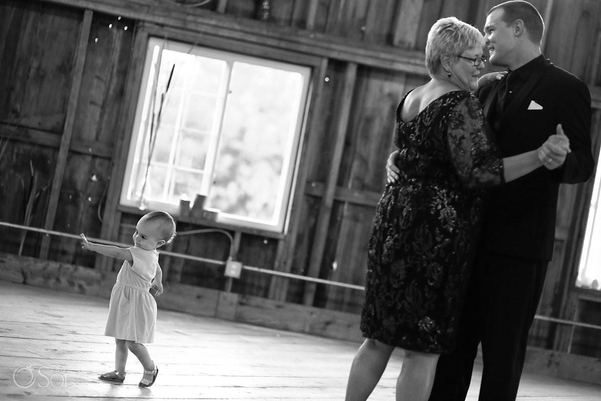 mother son dance bloom lake barn wedding