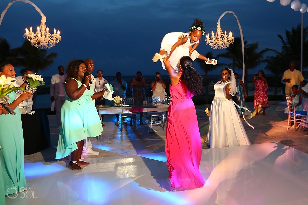 destination wedding reception Hard Rock Riviera Maya