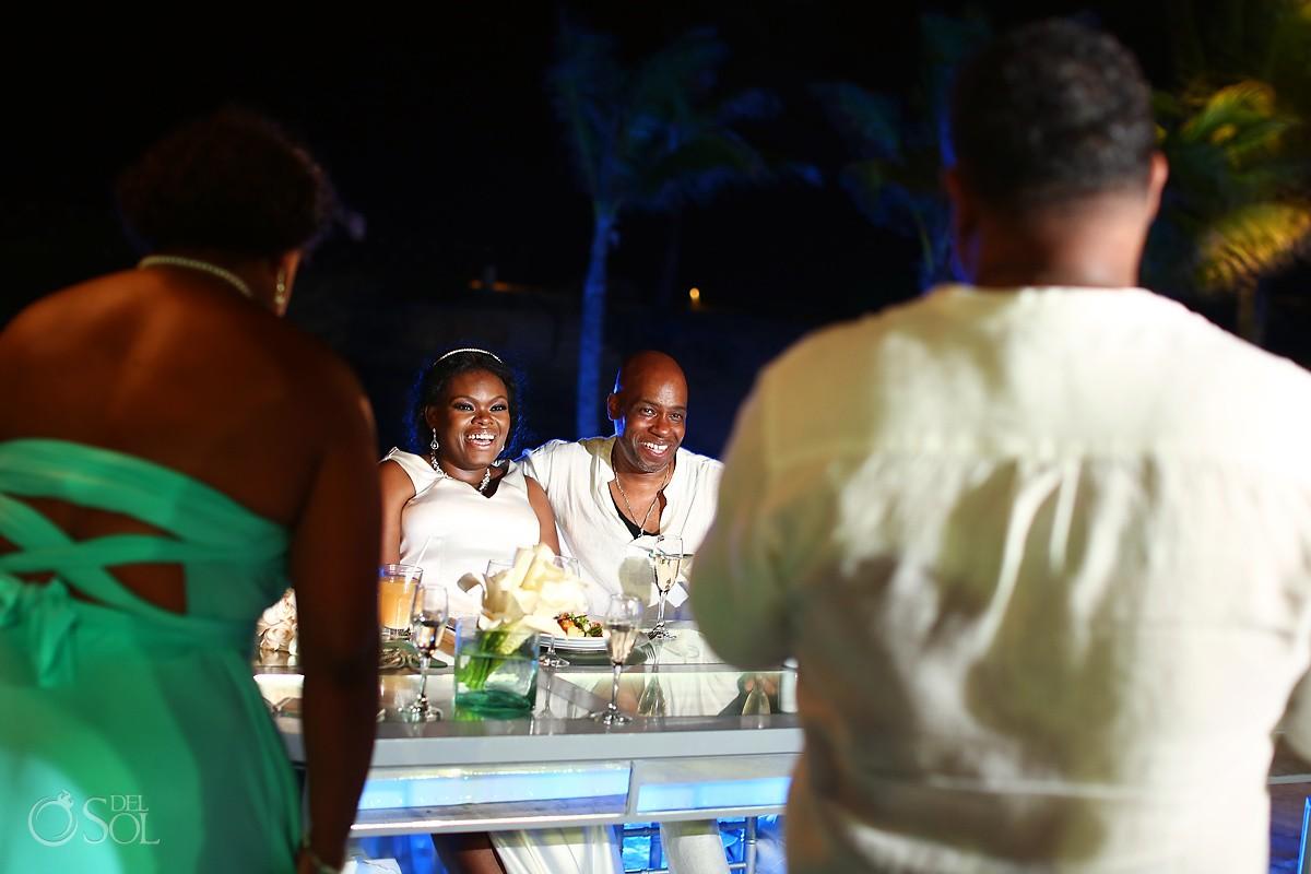 speeches destination wedding reception Hard Rock Riviera Maya