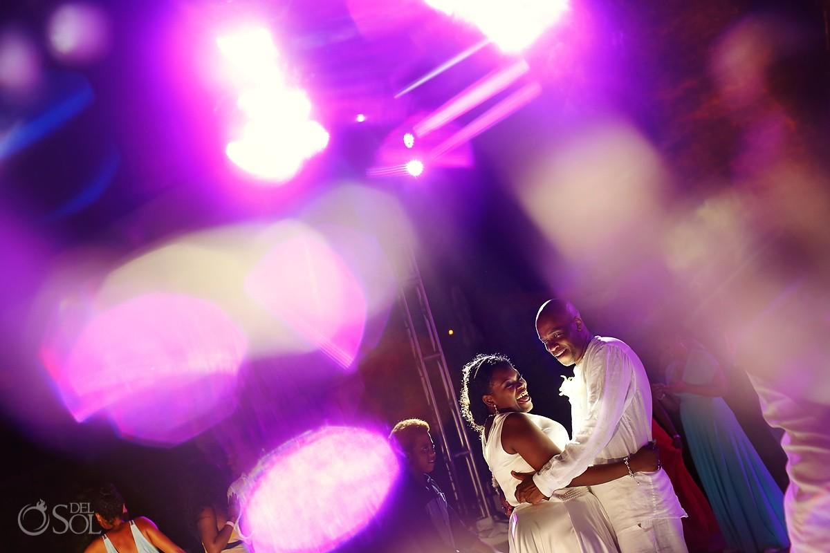 first dance destination wedding reception Hard Rock Riviera Maya
