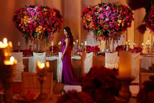 #KTMayakoba Karen Tran Floral Designs Masterclass gala dinner Andaz Mayakoba