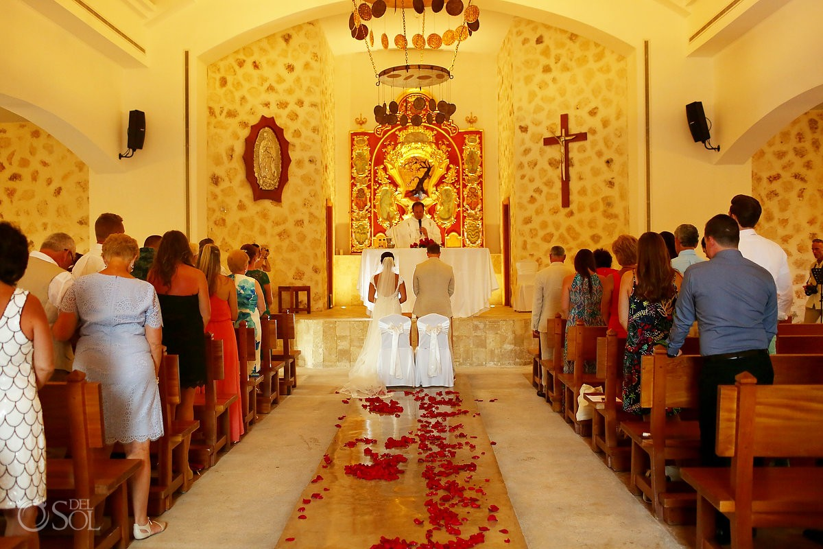 top riviera maya wedding chapel Our Lady of Paradise Iberostar Paraiso Maya-
