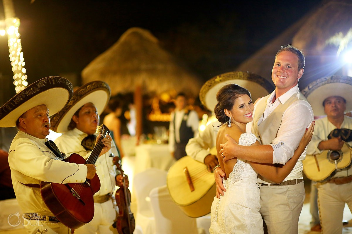 first dance mariachi iberostar paraiso maya