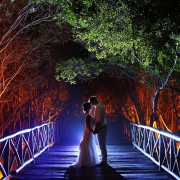 Mexican destination wedding photo Iberostar Paraiso Maya