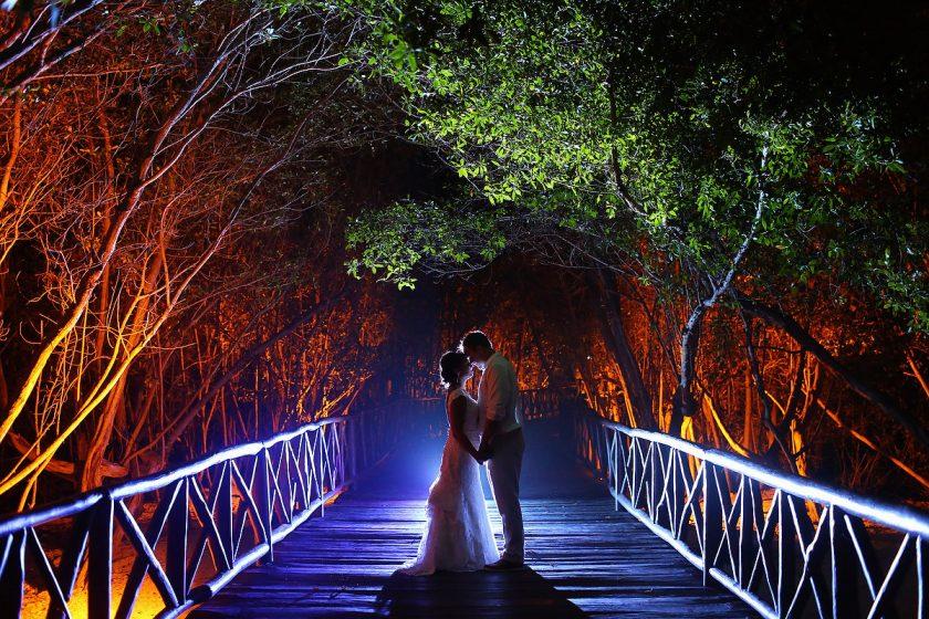 Mexican destination wedding photo Iberostar Paraiso Maya