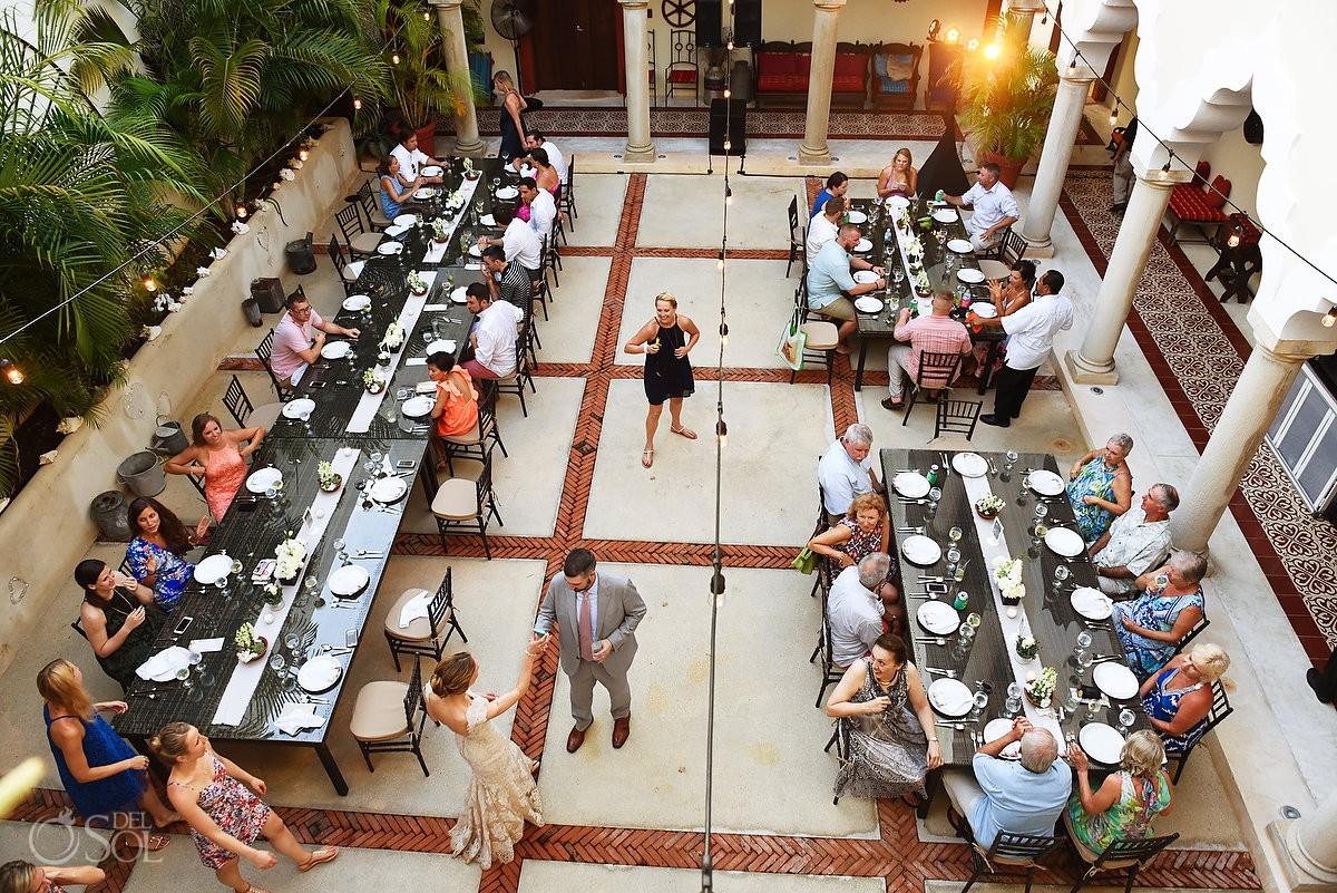 decoration wedding reception ideas Hacienda del Mar Riviera Maya Mexico