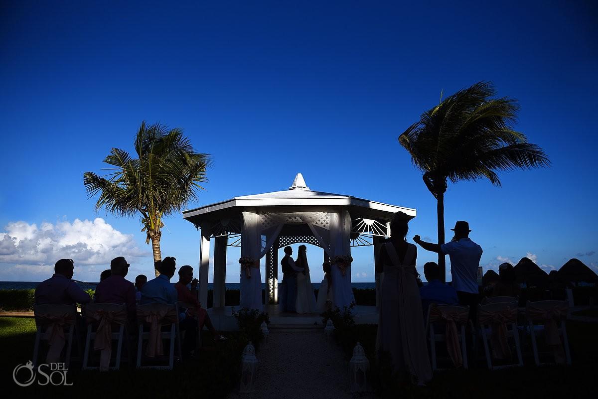 destination wedding Ocean Coral & Turquesa Gazebo