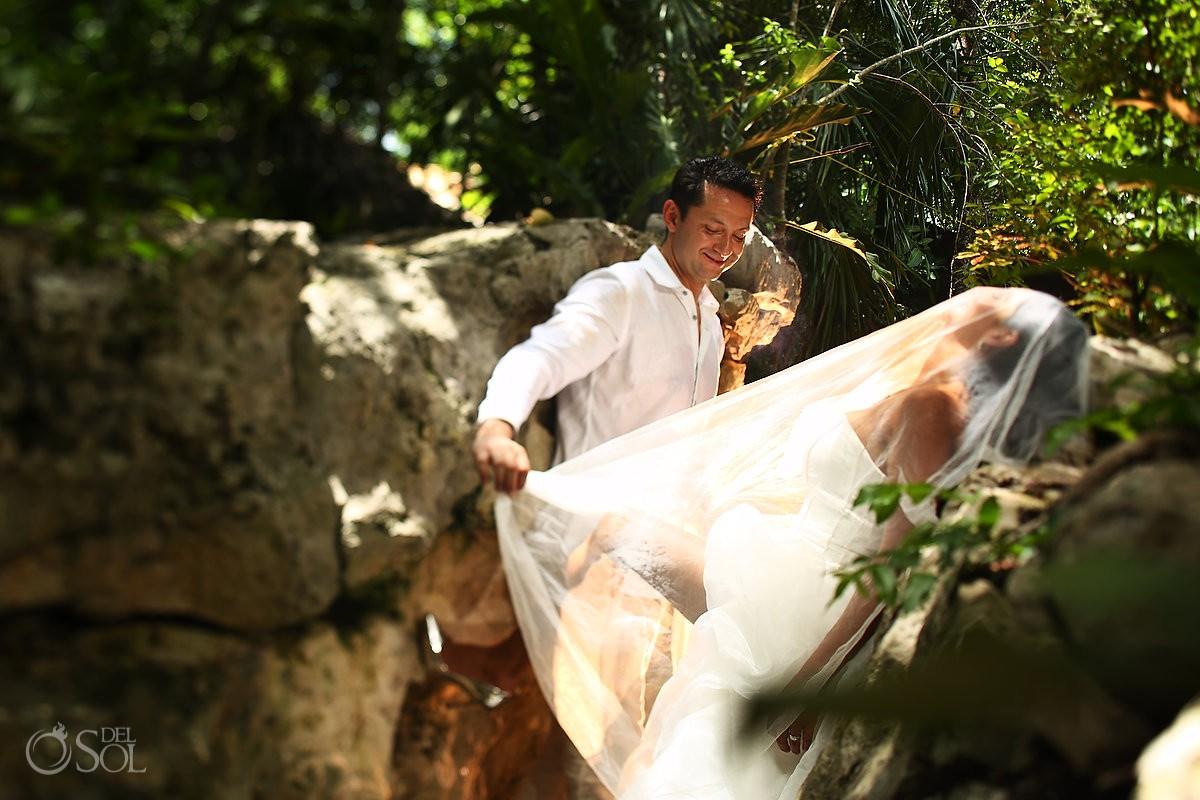 Sesión de fotos cenote riviera maya