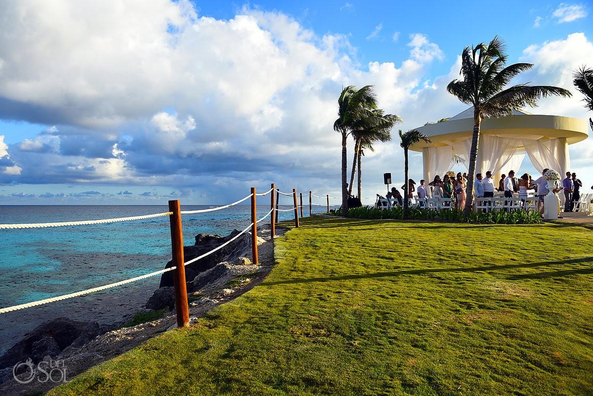 Destination Wedding Hyatt Ziva Cliff Gazebo