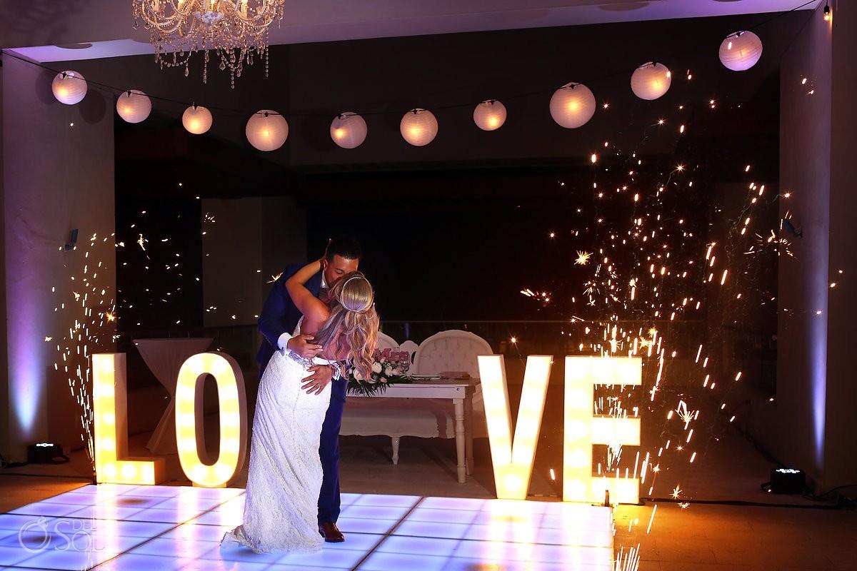 Hyatt Ziva Cancun Gazebo Cliff Wedding Michelle Adam